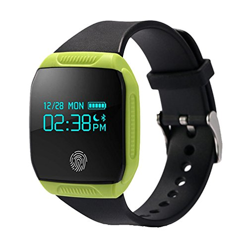 COOSA Smart Wristband Waterproof Health Activity GPS Fitness Tracker Bluetooth Smart Band Sync Bracelet for Android iOS